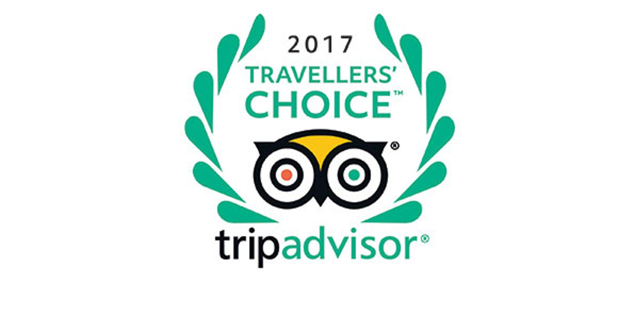 Tripadvisor Travellers Choice Award 2017