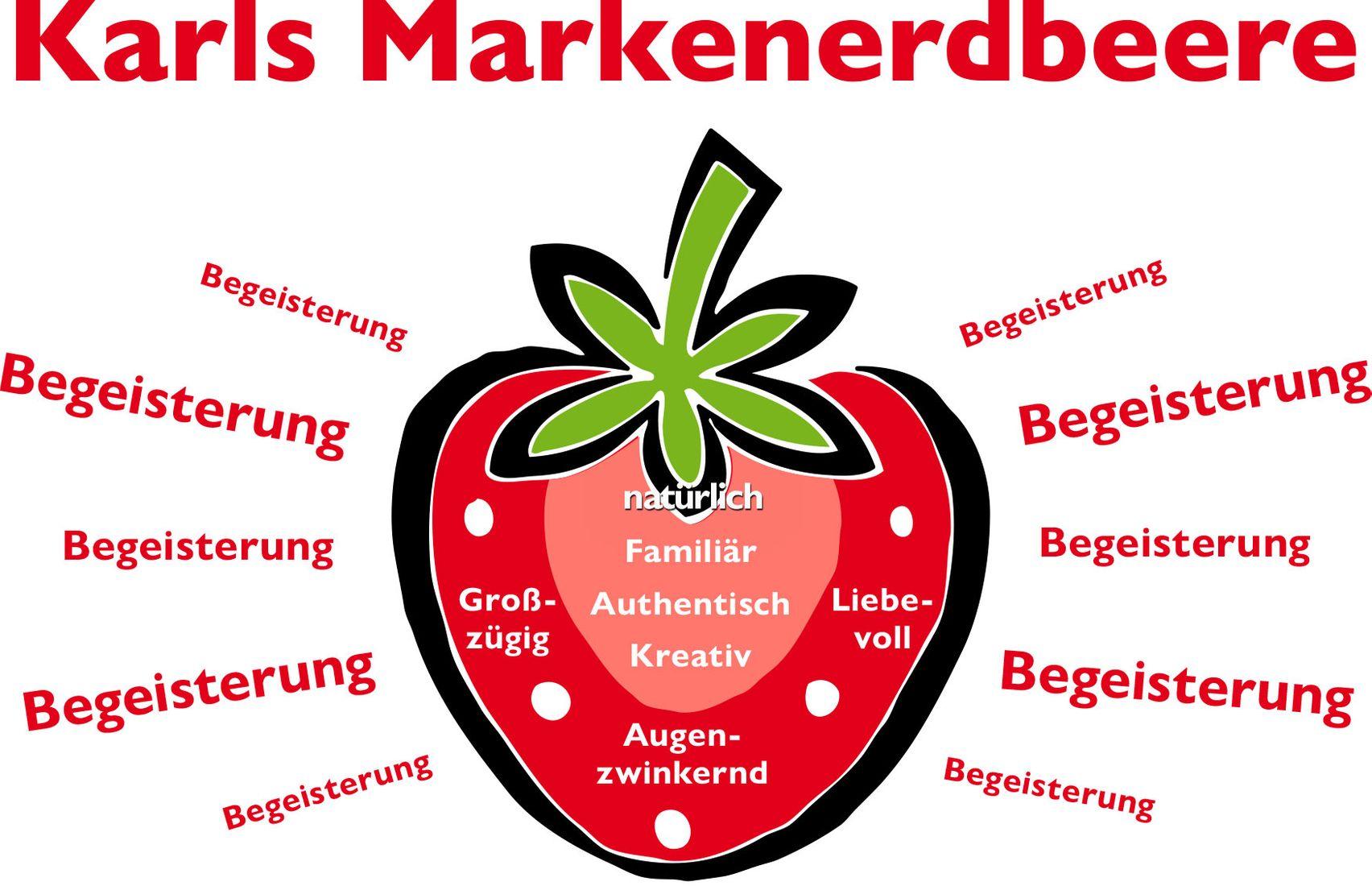 Marken-Erdbeere