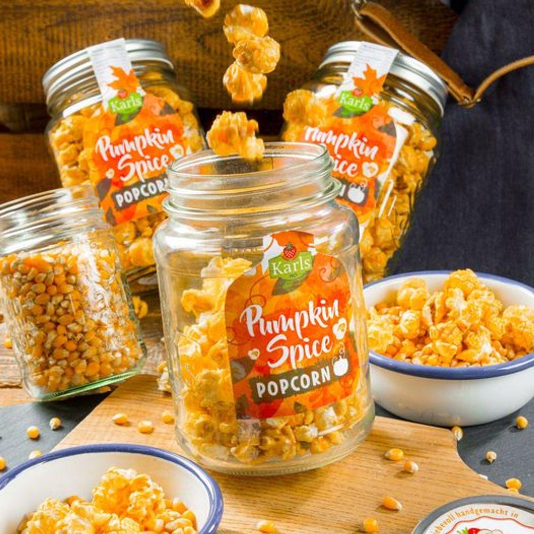 Pumpkin Spice Popcorn - Kürbis