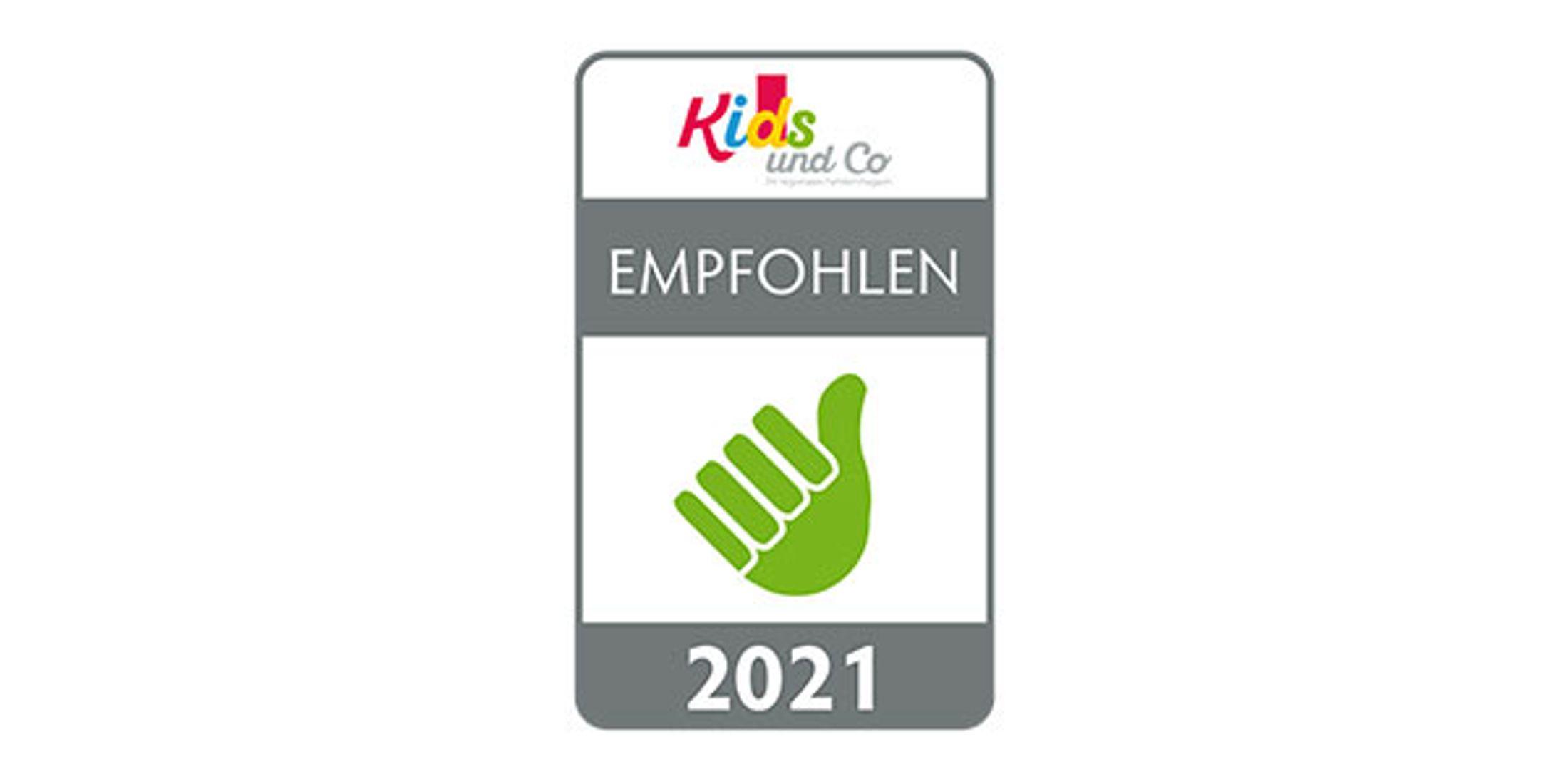 Kids und Co 2021 Cala-Testsiegel