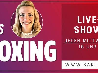 Karls Live - Steffis Unboxing Show Werbeslider