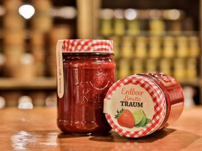 Karls Erdbeer-Limetten-Traum aus der Marmeladenküche