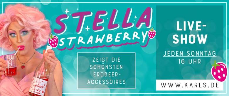 Stella Strawberry Liveshow Werbeslider