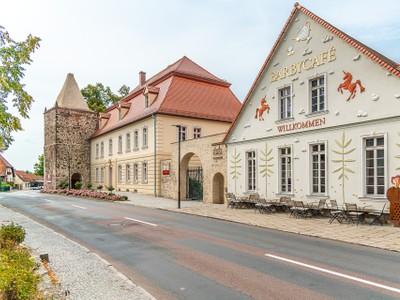 Außenansicht Rittergut von Barby, Loburg