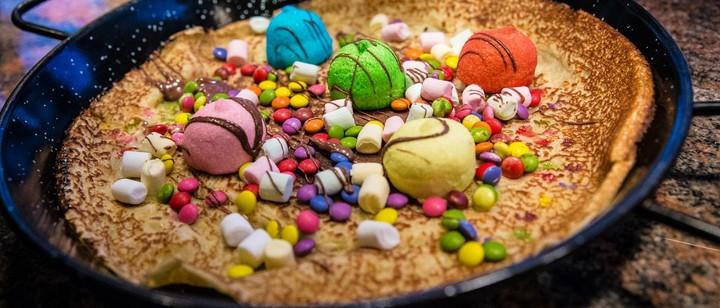 Pfannkuchen-Schmiede, Pfannkuchen, süß